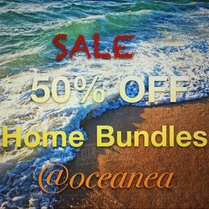 """50% OFF Bundles of TWO or more """"Home"""" Items"""